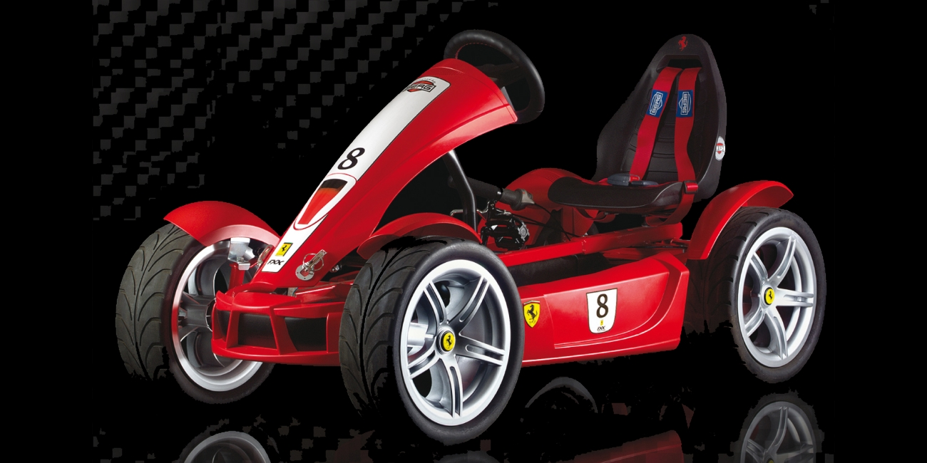 The Ferrari F Go Kart For Kids And Other Berg Pedal Karts
