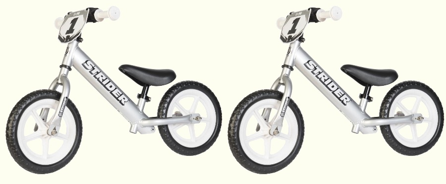 Strider 12 Pro Is The Only All Aluminum Lightweight Balance Bike