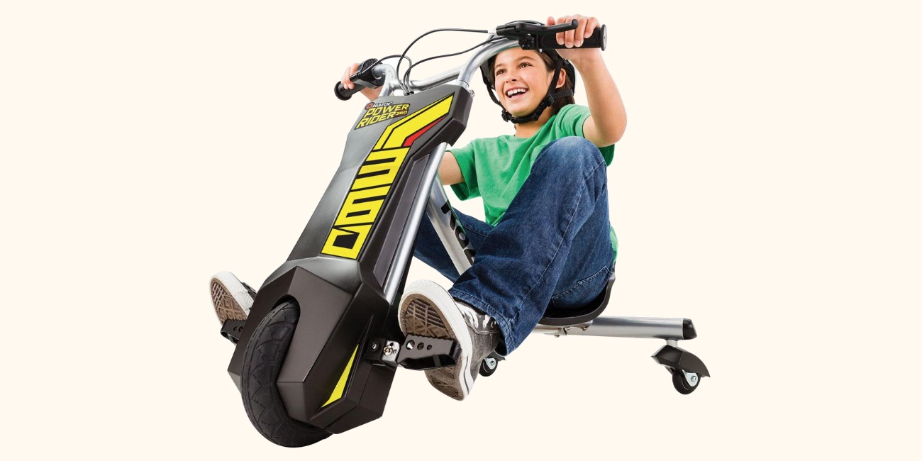 Is The Power Rider 360 Electric Trike Coolest Kids Ride On Toy Fisher Price Harley Davidson Tough December 10 2018