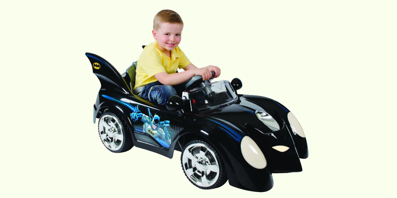 Batman Batmobile Kids 6 Volt Electric Ride On Car Is Pure Adam West