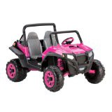 Peg Perego Polaris RZR 900 4x4 Kids Electric SUV Pink