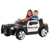 Kid Trax Dodge Charger Police Cruiser