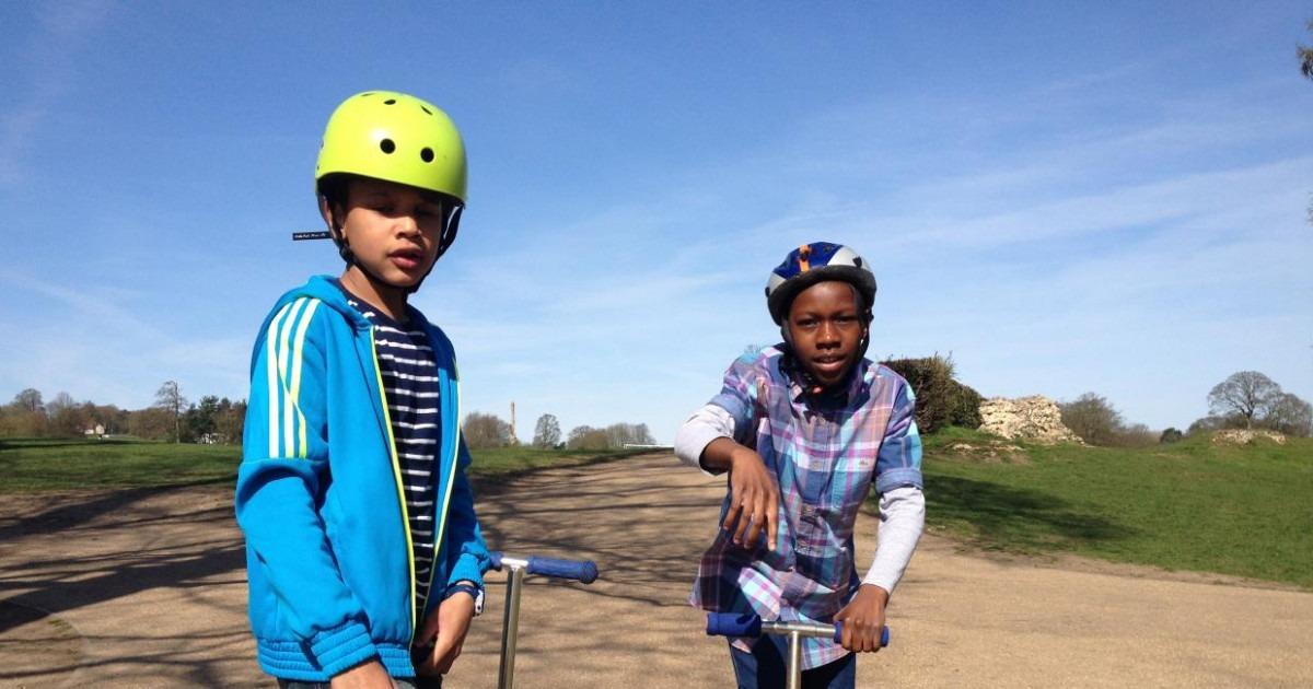 Mini Micro and Maxi Micro Scooters Are Great For Balance Confidence in Kids