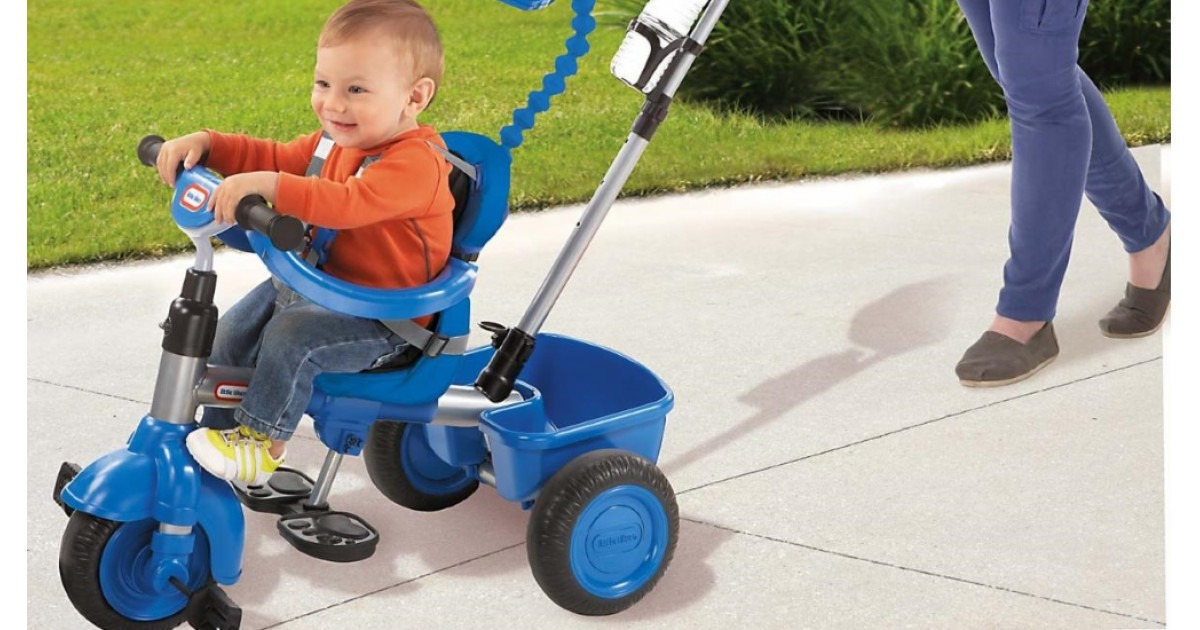 The little tikes three in one trike review