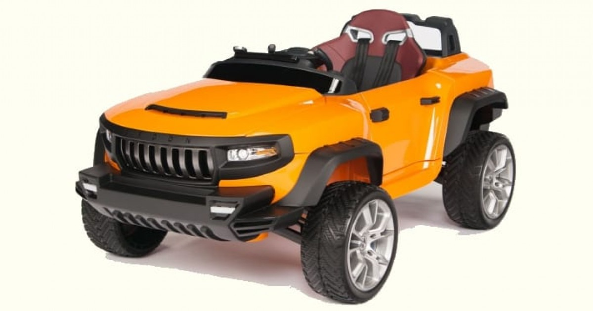 Henes Broon T870 Kids Electric Luxury SUV Review
