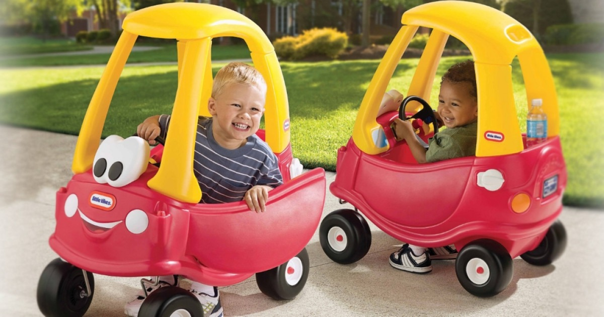 Classic Kids Ride On Car Little Tikes Cozy Coupe 30th Aniiversary