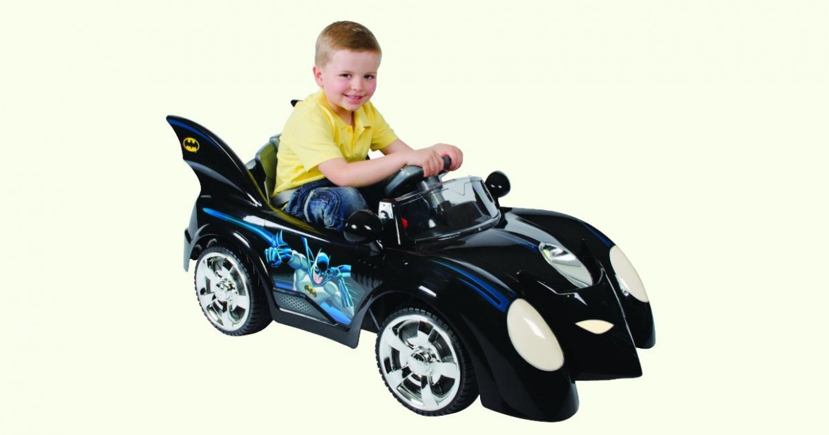 Batman Batmobile 6v Electric Ride-On Car