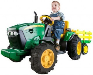 Top toys of the year - the Peg Perego John Deere Ground Force Tractor