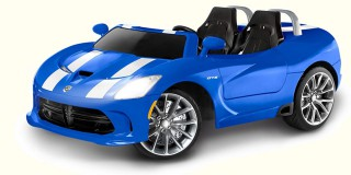 The best convertible ride-on car for kids! Kid Trax 12v Dodge Viper SRT