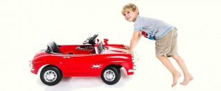Kids Vintage Style Mercedes Electric Car Review