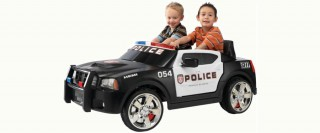 Why Is the Kid Trax Dodge Charger Police Cruiser So Cute?