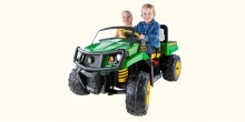More Farm Fun With Peg Perego John Deere 12 V Electric XUV 550