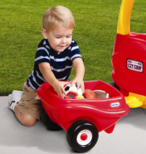 The Little Tikes Cozy Coupe trailer