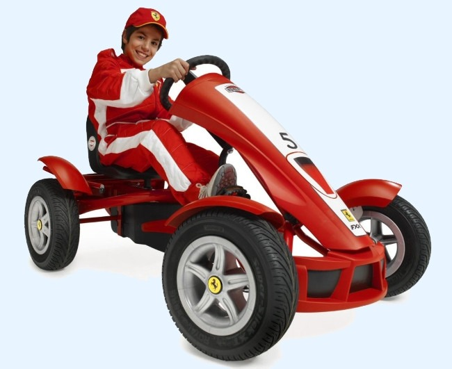 Best kids Ferrari AF Pedal Go Kart Expensive But high Quality Fun