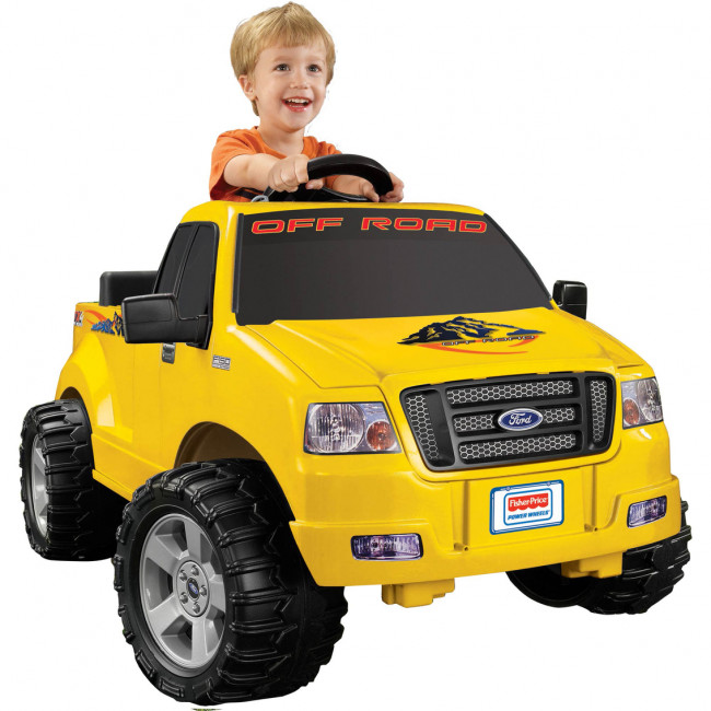 Compare Ford F150 6V Electric Truck Best Kids Fisher Price Power Wheels Review