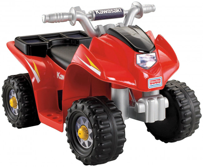 Compare Power Wheels Lil Kawasaki Quad Electric Ride-On Toys Review