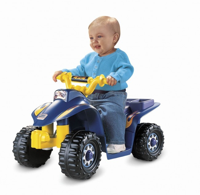 Fisher Price Power Wheels Best Lil Quad 6v Electric Quad Bike Review