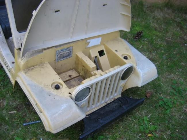 Replacement Part for Power Wheels Jeep