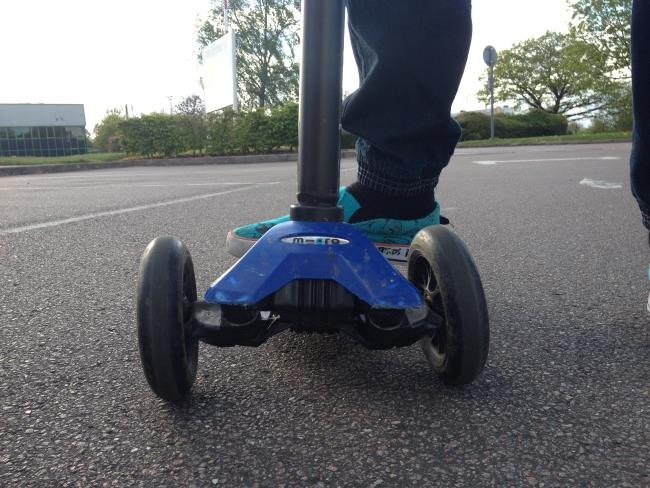 The Mini Micro Scooter Can Help A Child With A Balance Disorder