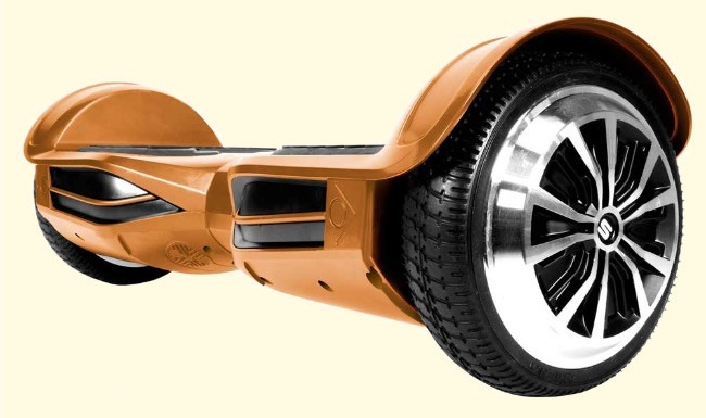 Swagtron T3 Bluetooth Gold Hoverboard Is UL2272 Certified