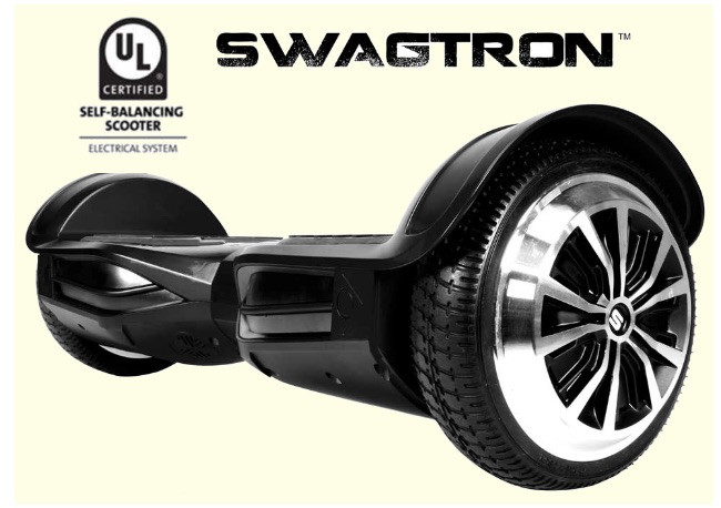 Swagtron T3 UL2272 Bluetooth Hoverboard Availlable In Black