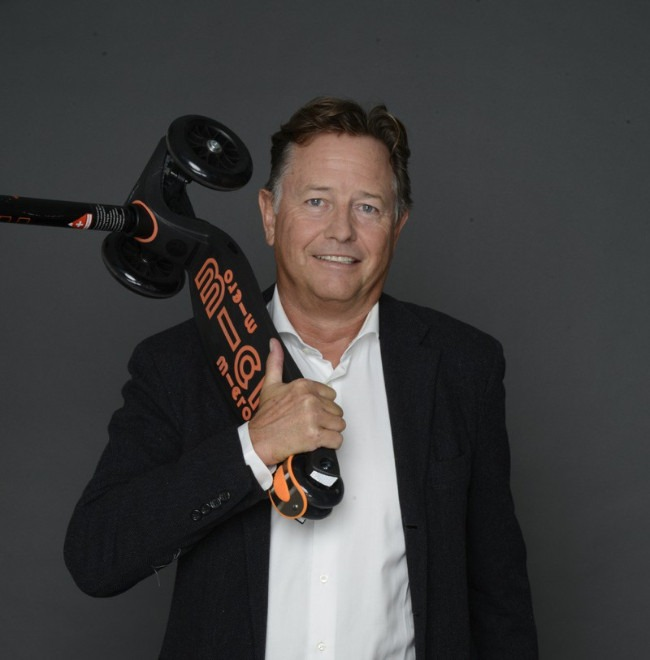 Wim Ouboter Creator of The EMicro One Electric Scooter