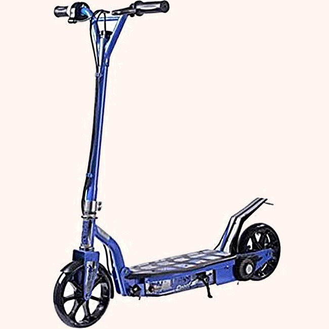 Blue Kids Electric Scooter UberScoot 100w 24V