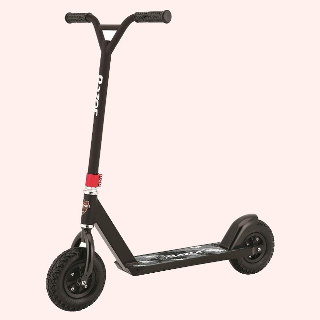 The Razor Pro Black Label Dirt Scooter Is On Discount