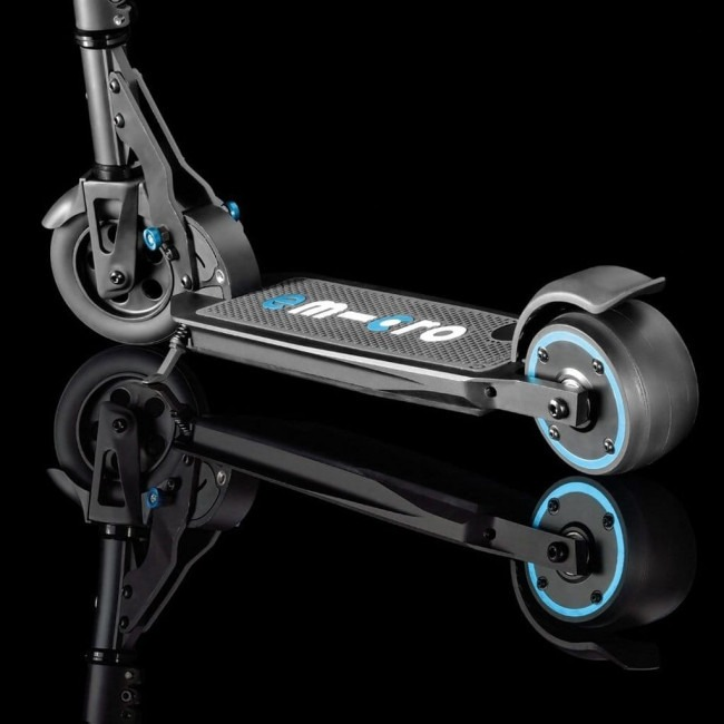 eMicro One Electric Scooter Sliline Looks And Sturdy Build
