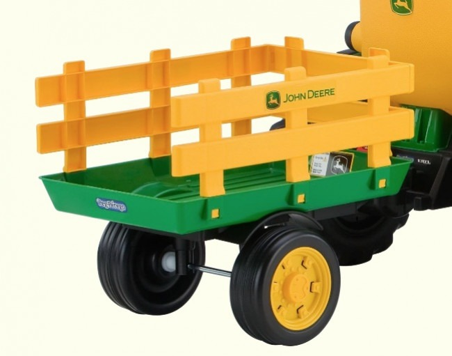 Trailer Detail Of The Best Kids Electric Tractor In This Review