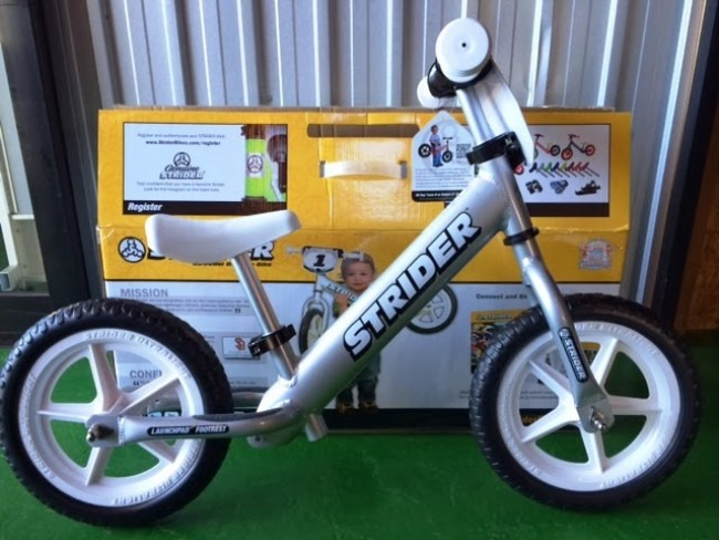 Strider 12 Pro No  Pedal Balance Bike Review Out Of The Box