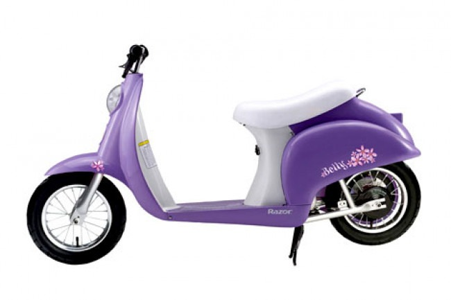 Purple Razor Pocket Mod Electric Scooter