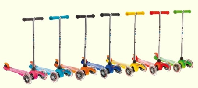 Maxi Micro Scooters Come In Many Colors