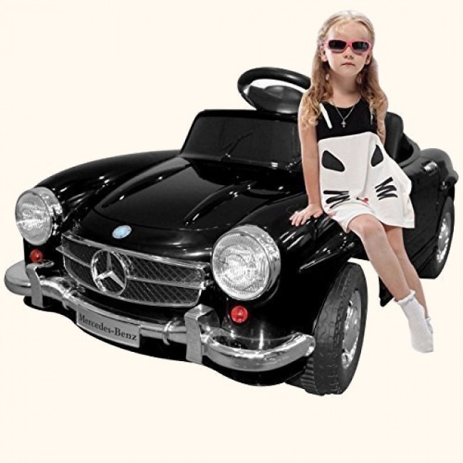 Kids Electric Mercedes Ride-On Car Review SL300